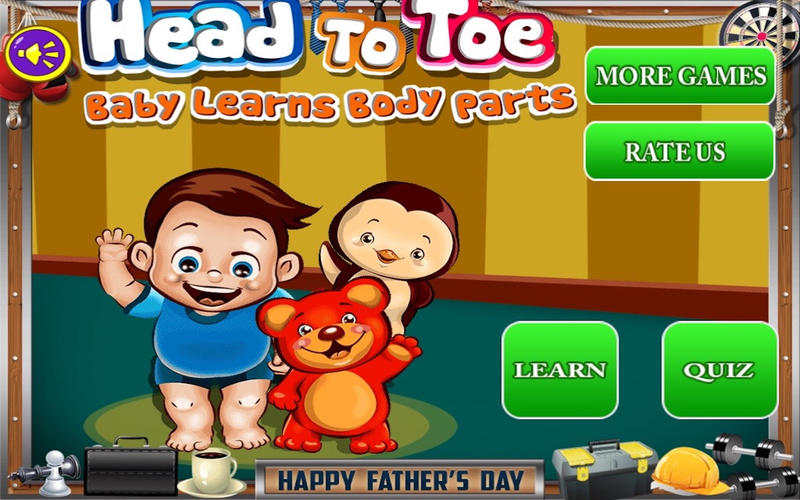 Head To Toe Pro – Baby Learns Body Parts for Mac