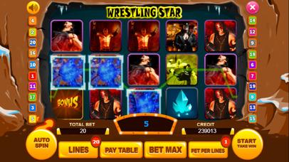 Screenshot 2 Wrestling слот Машина : Выиграть виртуальный Игра