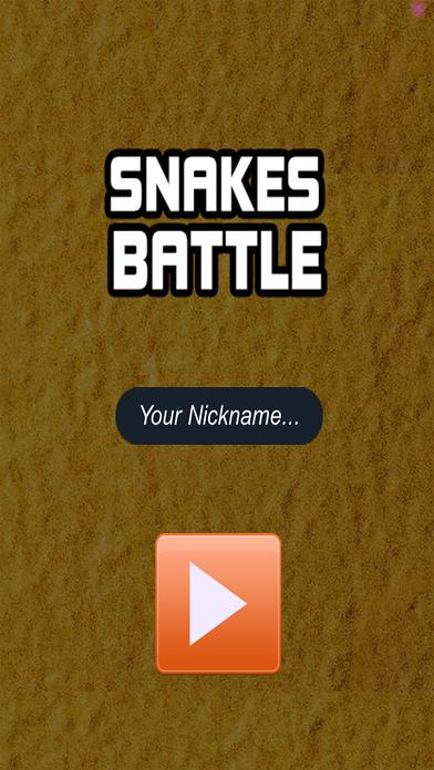 Snakes Battle Game screenshot 1