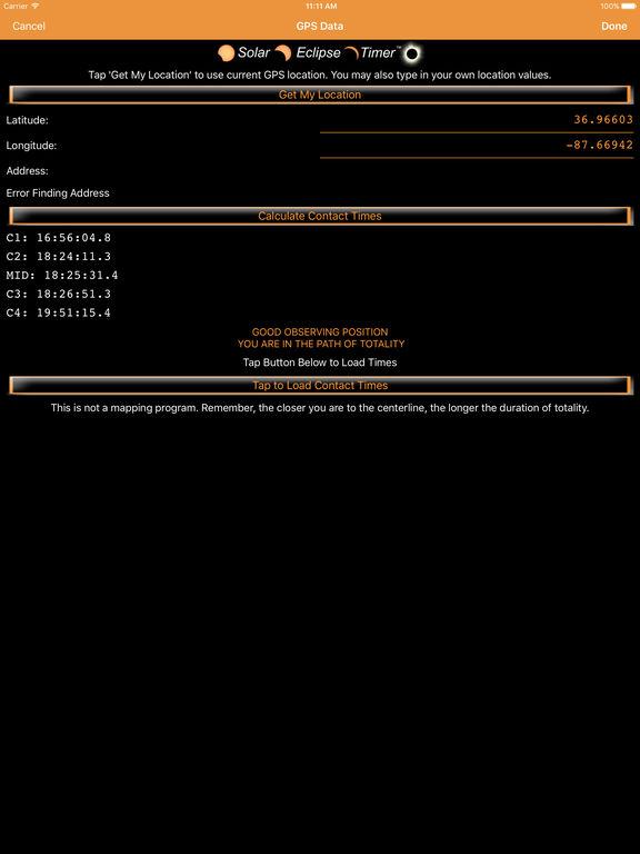 Solar Eclipse Timer screenshot 7