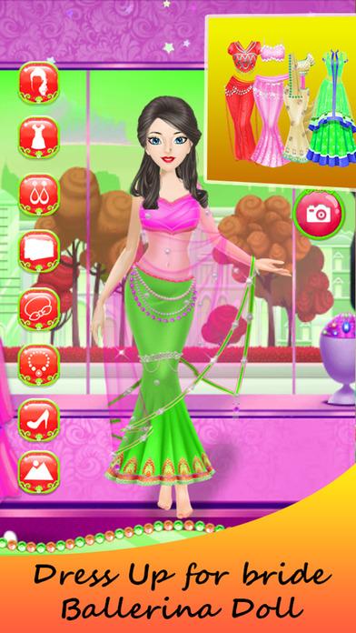 Princess Bride Ballerina Dress Up Girl screenshot 1