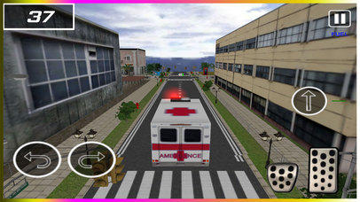 Flying Ambulance Rescue Simulator pro screenshot 2