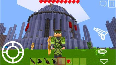 Pixel Block Gun 3D screenshot 2