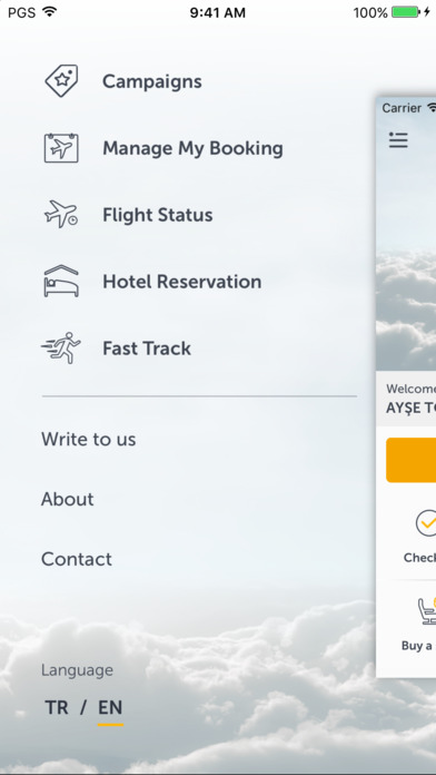 Pegasus Airlines - Cheap Flights screenshot