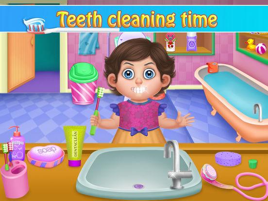 Little Baby Bathroom Hygiene screenshot 5