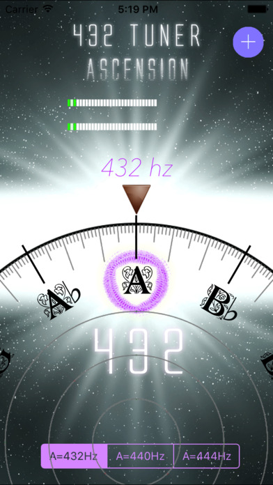 432 Tuner Screenshot 2