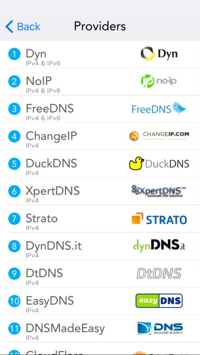 RealDNS - Dynamic DNS update client for IPv4, IPv6 Screenshots