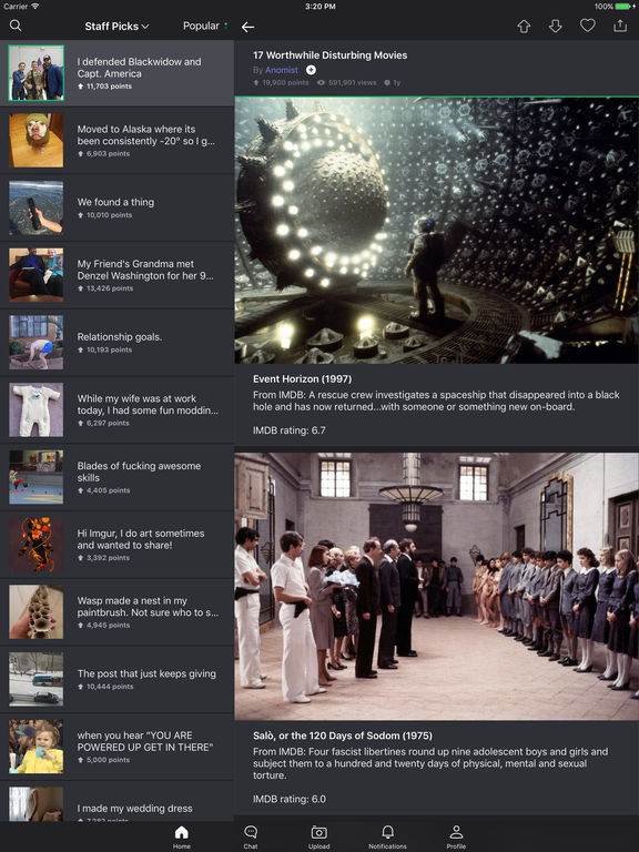 Imgur: Awesome Images & GIFs Screenshots