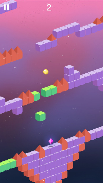 Trio Crazy Ball Cubic Maze Escape screenshot