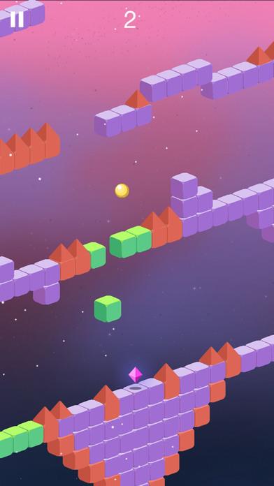 Trio Crazy Ball Cubic Maze Escape screenshot 2