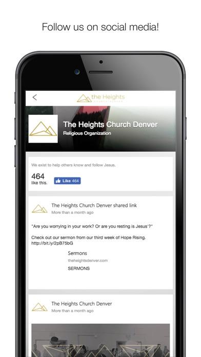 The Heights Church Denver screenshot 3