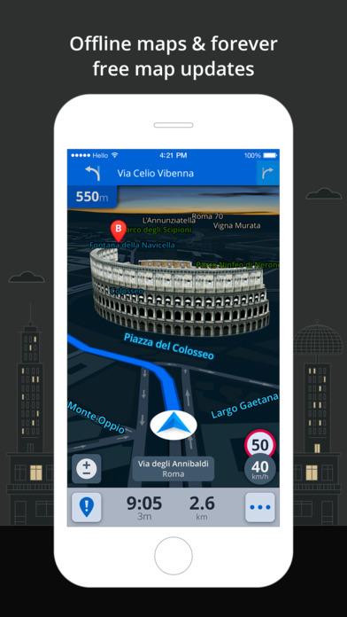 Sygic: GPS Navigation, Maps, Traffic, Gas prices Screenshots