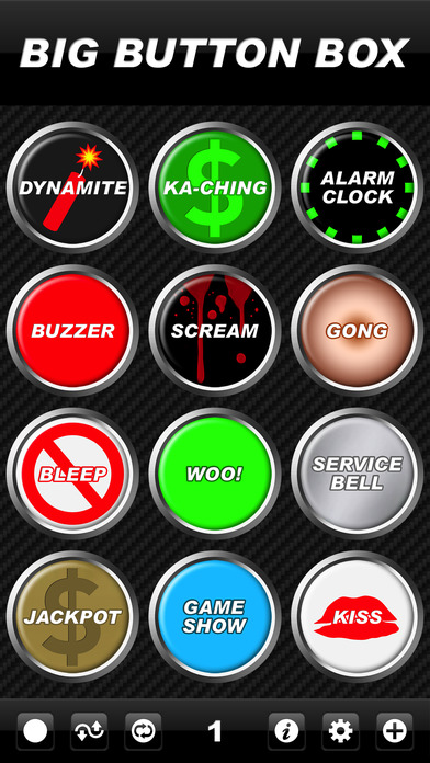 Big Button Box - funny sound effects & loud sounds screenshot 1