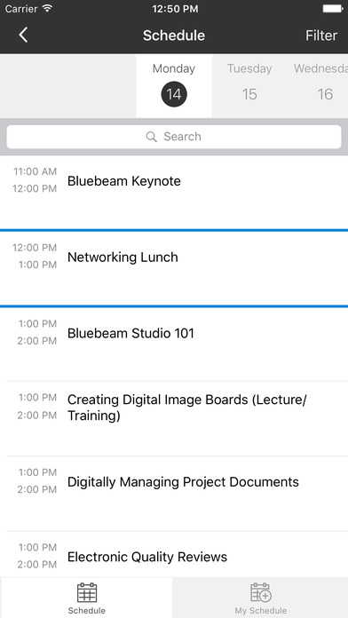download Bluebeam Inc. Events apps 3