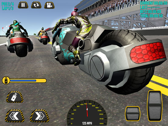 Superheroes Moto Bike Racing screenshot 8