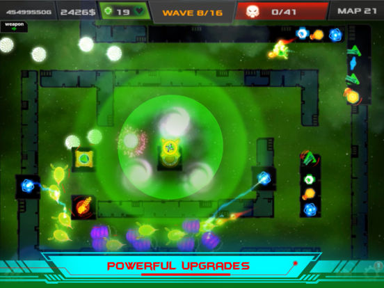 Galaxy Glow Defense screenshot 7