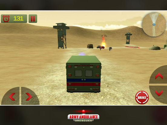 US Army Ambulance Rescue Game screenshot 7