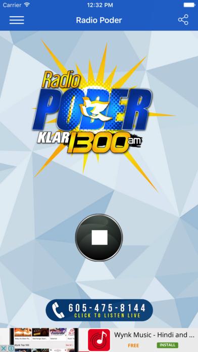 Radio Poder 1300 AM - Lite screenshot 2