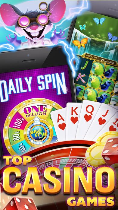 Big Fish Casino – Best Vegas Slot Machines & Games iPhone
