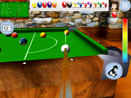 snooker pool Billiard game screenshot 5