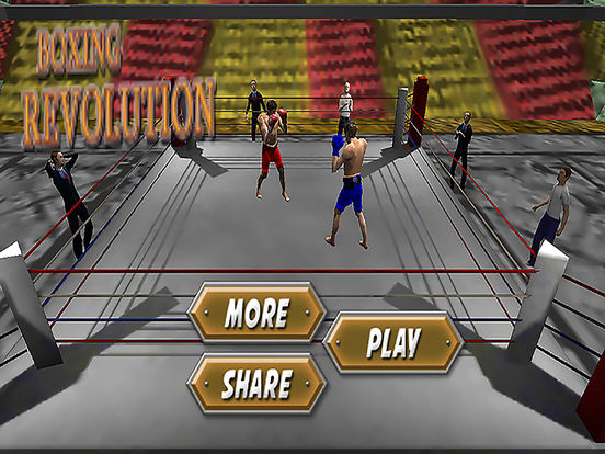 Боксерская революция 2017 3D Punch Boxing Скриншоты6
