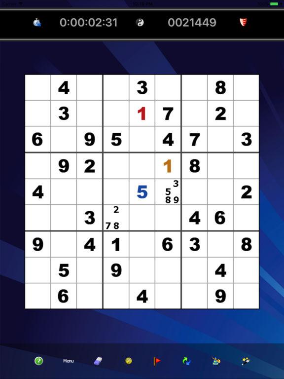 Sudoku by Mastersoftscreeshot 1