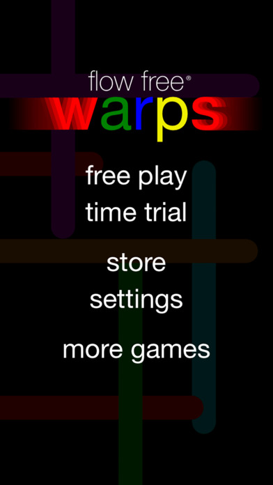 Flow Free: Warps screenshot 2