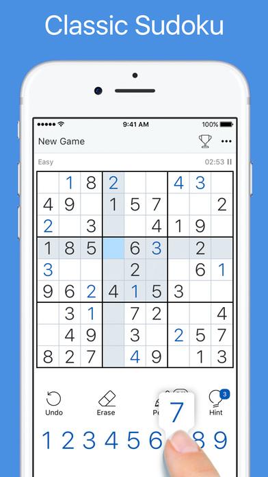 Screenshots of Sudoku - Classic Logic Game for iPhone