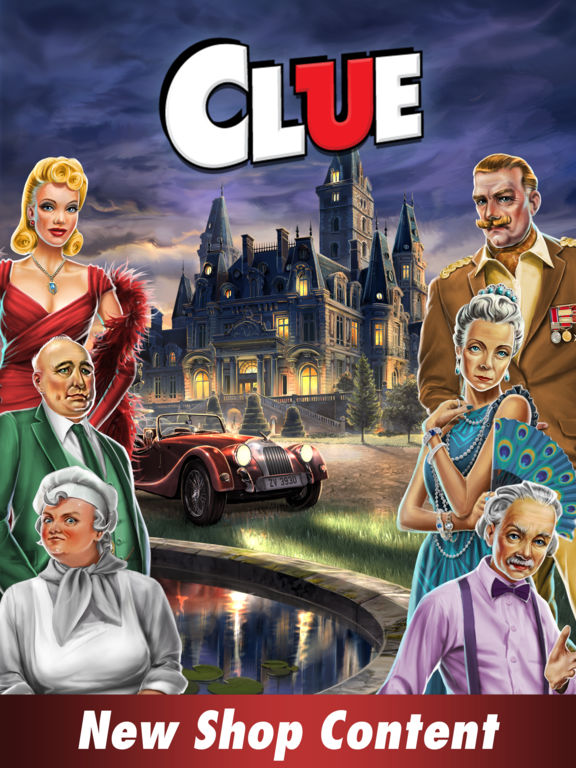 Clue: The Classic Mystery Game Screenshots