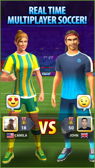 Soccer! Hero screenshot 1
