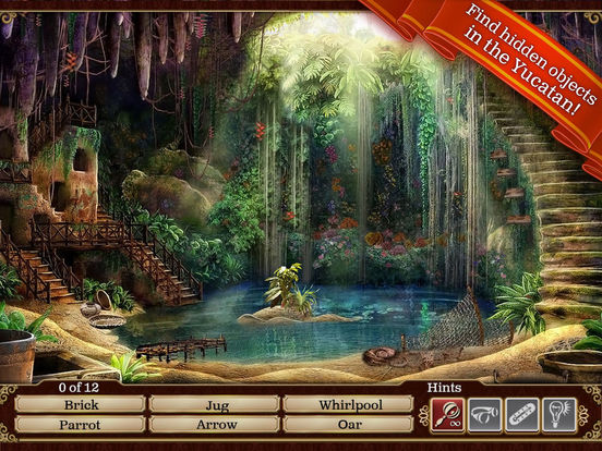 Screenshots for Hidden Objects: Gardens of Time