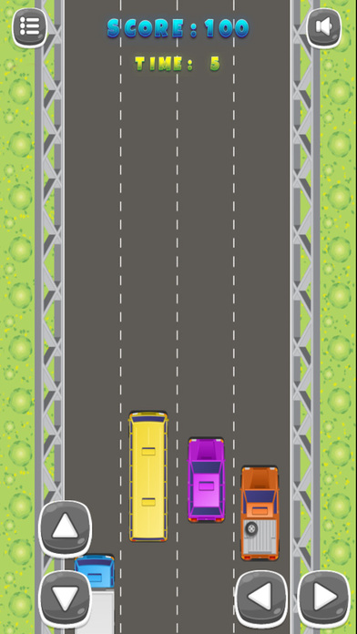Colorful Cars Speedy Car Racing screenshot 2