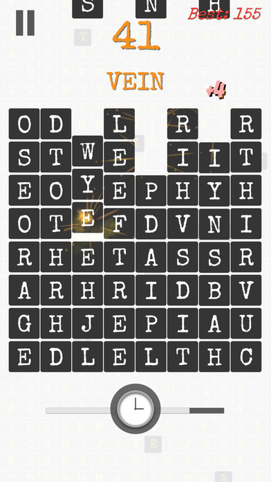 Word Pop: Endless Brain Game screenshot 3