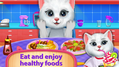 Cute Kitty's Bedtime Activities screenshot 2