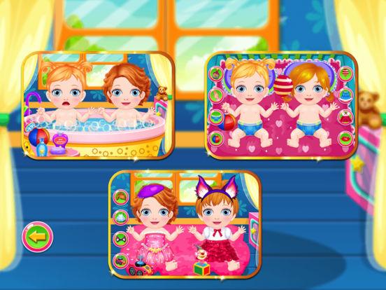 New Born Twins Caring PRO screenshot 4