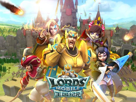 王国纪元(Lords Mobile)-全球国战