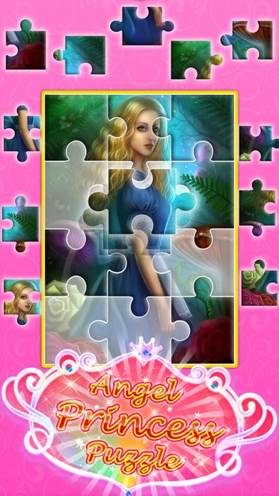 Angel princess puzzle screenshot 4