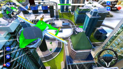 летающий робот Трансформация: реальный бой Боты Скриншоты4