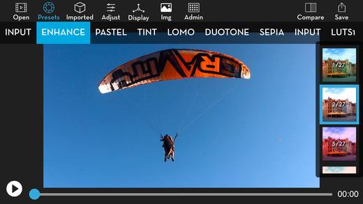 Video LUT - Colorgrade Video Editor Screenshots