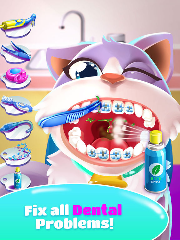 Pet Dentist Doctor Game! screenshot 6