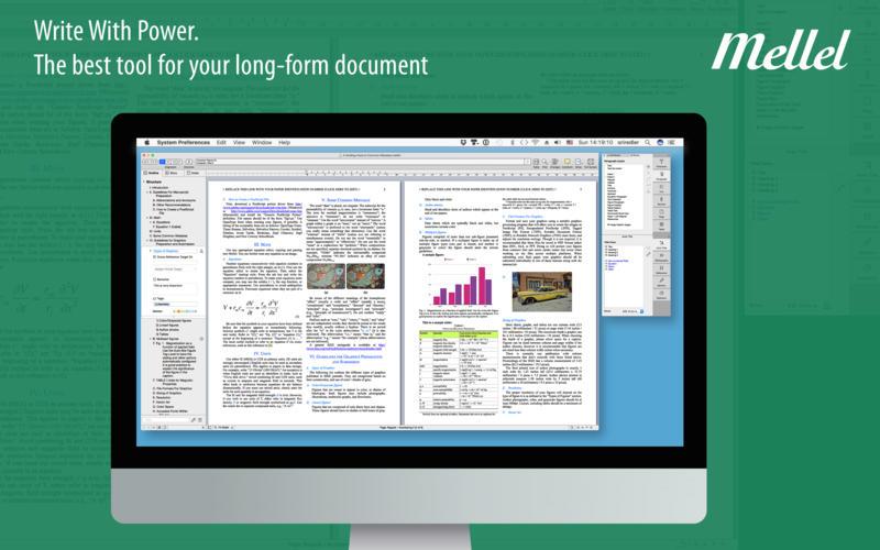 Mellel for Mac 4.0.2 破解版 – Mac上领先的文字处理程序-爱情守望者