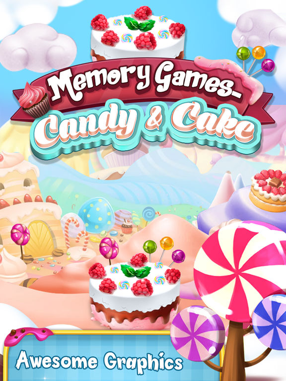Memory Game : Cake and Candy screenshot 8