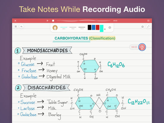 Whink - Note taking, Annotate & Record Lectures 앱스토어 스크린샷