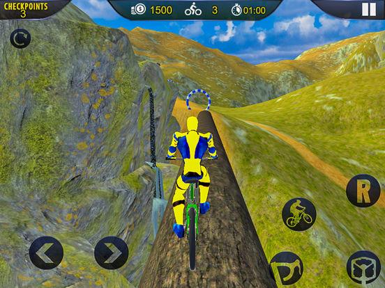 Spider Superhero Bicycle Riding: Offroad Racing screenshot 8
