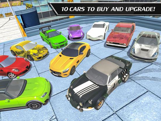 Car Drift Duels: Roof Racing screenshot 10