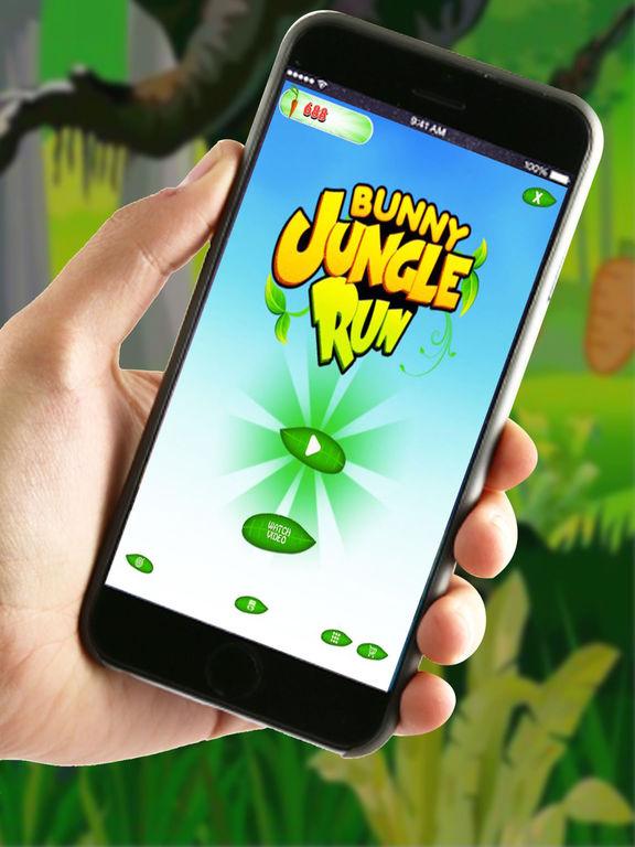Bunny Jungle Run Adventure screenshot 7