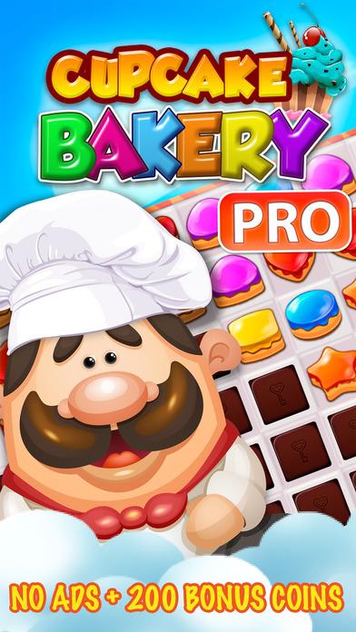 Cupcake Bakery Pro Match 3 Screenshots