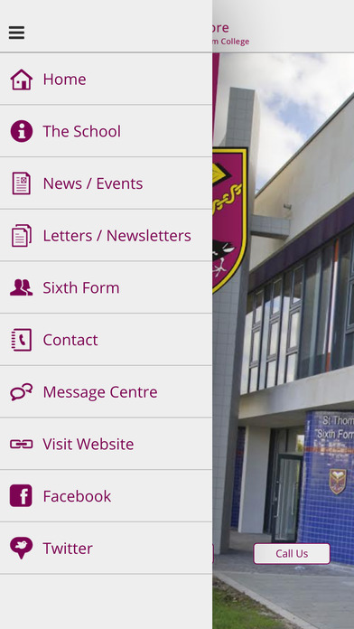 St Thomas More Catholic School & 6th Form College screenshot 2