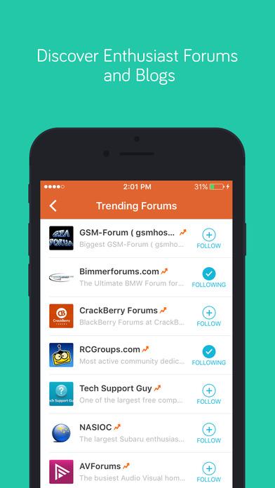 Tapatalk - 100,000+ Forums Worldwide Screenshots