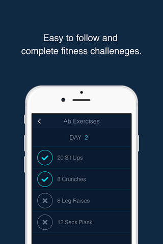 30 Day Fitness Challenge Log screenshot 4